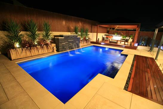Awesome Design For Outdoor Jacuzzi Ideas With Design Rectangular ...